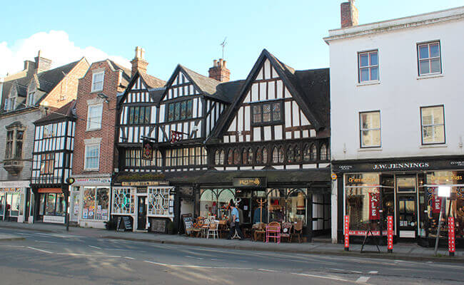 Period property in Tewkesbury