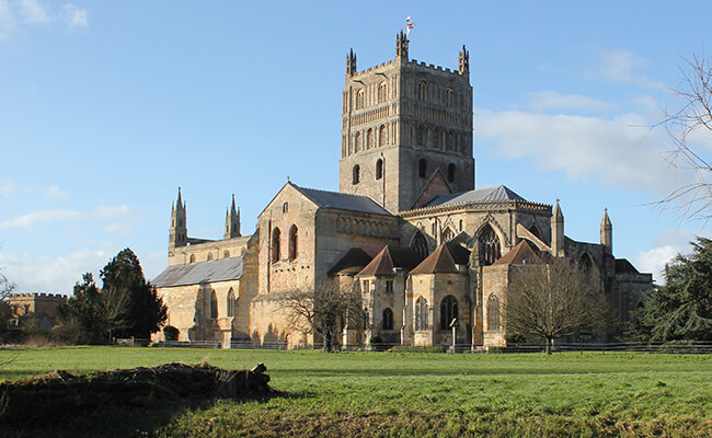 Tewkesbury Abbey building